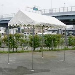 キリズマ型テント(1k×1.5k)白
