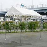 キリズマ型テント(1k×2k)白