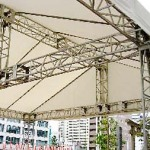 ステージ屋根