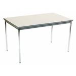 ミーティングテーブル(750×1200×700・白)