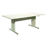 ミーティングテーブル(900×1800×700・白)