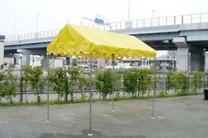 キリズマ型テント(1k×1.5k)透明・カラー